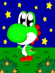 Adorable Yoshi by Candy-Swirl