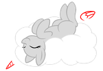 Relaxing pony -BASE- by JewelBox-Bases