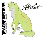 Transformers movieverse wolves: Ratchet by Chortura
