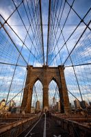 Brooklyn Bridge by tigerjet