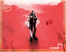 Sniper Red Wallpaper Small by GAVade
