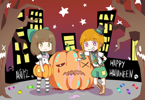 Happy Halloween by ani12