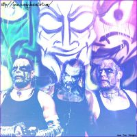 Jeff Hardy Many Faces by JeSe-HaRdY