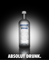 Absolut drunk by b--art