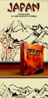 Japan Brushes Pack by sarthony