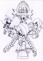 The Metal Series Eggman RULES by DarkHedgehog23