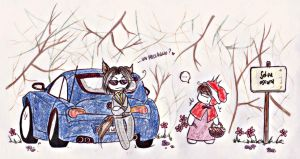 Little Red Riding Hood? by Rucci