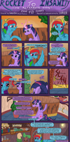 Rocket to Insanity: Common Differences 14 by seventozen
