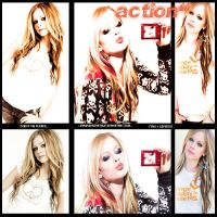 action avril by cyruscrazystyle
