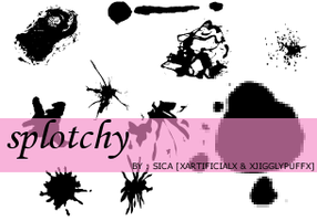 8thsetofbrushes--SPOTCHY by girlinabox