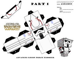 Advanced Recon Force trooper Part 1 by JagaMen