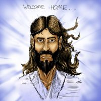 Welcome Home colored by SiriusSteve
