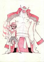 Ace nd the whitebeard by dustrain