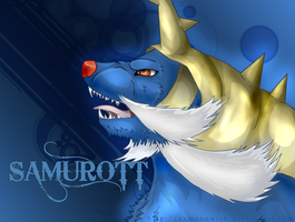 x Samurott x by xxMoonwish