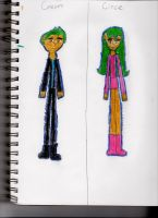 MH: OC Creon and Circe Plouton by choco-latte-squirrel