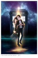 DW: The Tardis and her Doctor by OrneryJen