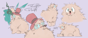 MLP FIM - Fluffle Pimp Sketches by MadCookiefighter