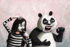 My panda is also a Mime by kdso