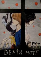 Death note by Mitsuukii
