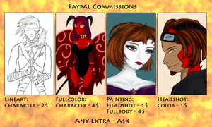 Commissions Price List by Notecja