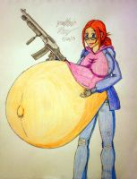 Art Request: Knocked Up and Loaded by JAM4077