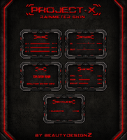 Project-X Rainmeter Skin - By BeautyDesignZ by BeautyDesignz