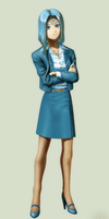 Office Lady Lind by EastCoastCanuck