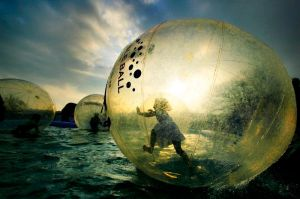 Fun in a bubble by StephensPhotos