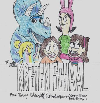 Kristen Schaal Tribute by CelmationPrince