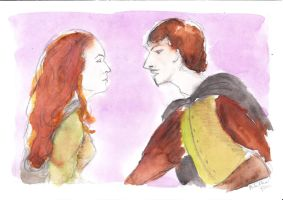 Cyrano from Bergerac by andulii