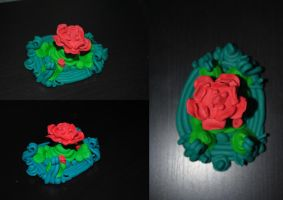 polymer flower creature II by Kitty-Kitty-Kit-Kat