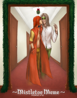 [Event] Mistletoe Meme - Dallas by Yoriden