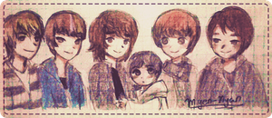 Very quick SHINee thing by Myen-Nyan