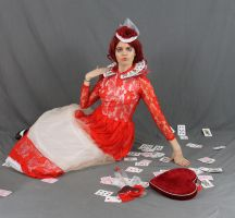 The Red Queen of Hearts 18 by MajesticStock