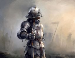 15th Century Knight II by Skvor