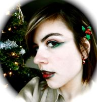 Holiday Make-up 2012 by EmpressBlackWings