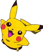 Pika chu 1 by frecklesmile