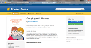 Camping With Mommy Book Review by Wolven-Sorceress