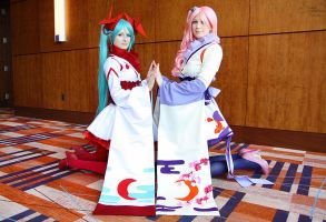 Oriental Vocaloids II by EnchantedCupcake