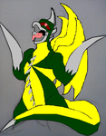 Microsoft Paint/ Penciled Gigan by 97osea