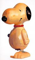 snoopy toy - 2003 by daethington