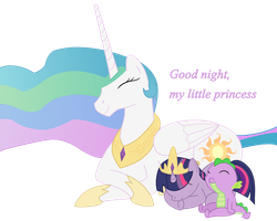 Good night, my little Princess by FiMStargazer
