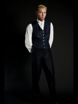 Mens Waistcoat and Pants by LunarJadeStyles