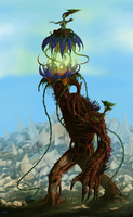 Life, The Tree Colossus by ZacART
