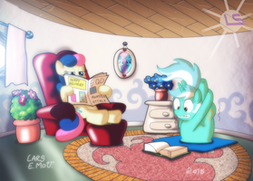 The Day Lyra Practice Yoga by Lars99