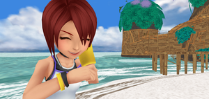 kh1 kairi icon by XxRhian-MidnightxX