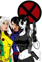 Ladies Of X By Pxtattoo by Kenkira