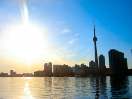 Toronto Cityscape by CourageMyLove