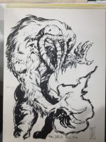 Man-Thing Sketch MCCC by Dave-Acosta