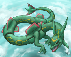 Rayquaza by MelvisMD